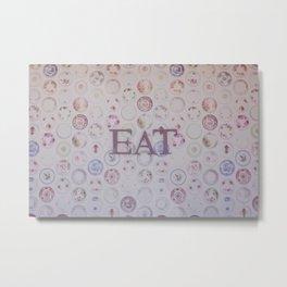 Eat Metal Print