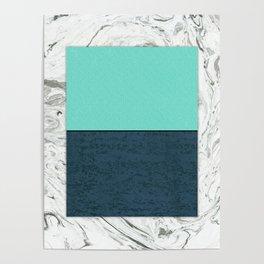 Horizon Marble Poster