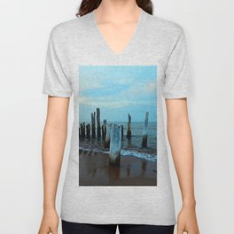 Reflections of the Past Unisex V-Neck