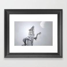 Fallenwolf Framed Art Print