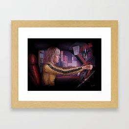 Beatrix Kiddo Framed Art Print