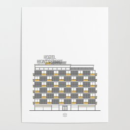 Hotel Montserrat Poster