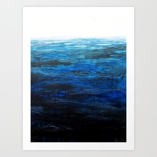 Sea Picture No. 4 Art Print
