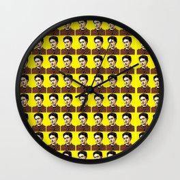Frida Kahlo Pop Art Wall Clock