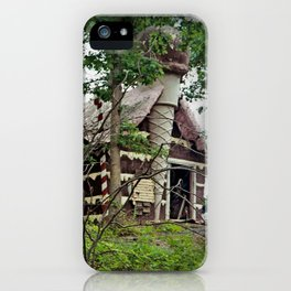 Hansel and Gretel, urban exploration iPhone Case