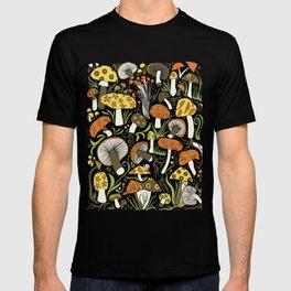 Hand-drawn Mushrooms T-shirt