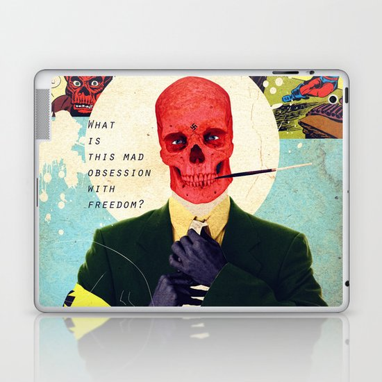 What Is This Mad Obsession With Freedom? Laptop & iPad Skin