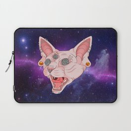 Cats in Space Laptop Sleeve