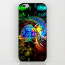 Abstrac perfekton 87 iPhone Skin