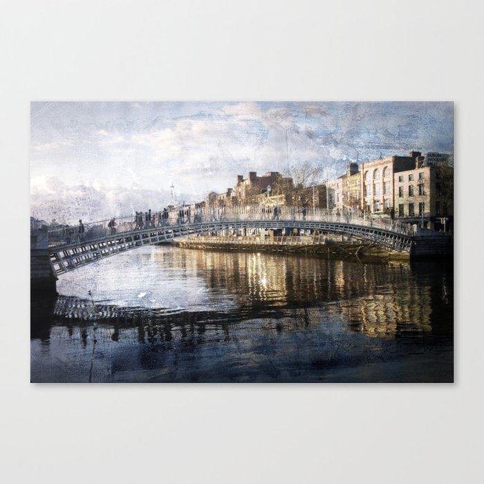Ha'PPeny Bridge Canvas Print