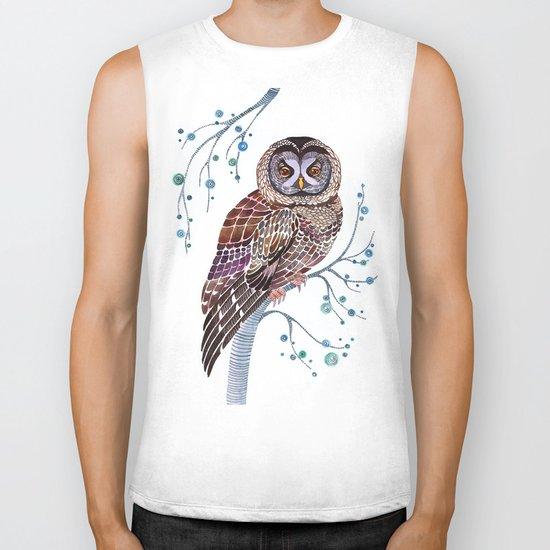 lacy owl Biker Tank