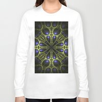 egyptian Long Sleeve T-shirts featuring Egyptian Gold by Brian Raggatt