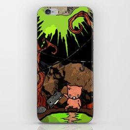 Dig Big Pig iPhone Skin