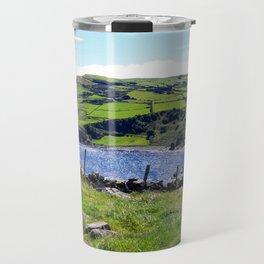 Landscape of Antrim coast. Northern Ireland Travel Mug