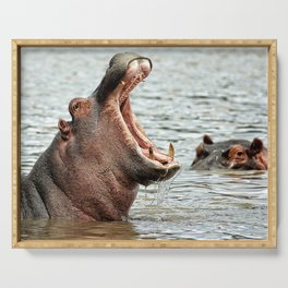 Hippo Serving Tray
