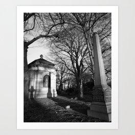 Greenwood Cemetery 3 Art Print