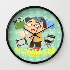Filmmaker Wall Clock