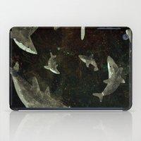 sharks iPad Cases featuring sharks by Lara Paulussen