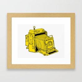 Folding Plate Camera Framed Art Print