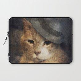 Vinnie Valentino - Ginger Cat Portrait Laptop Sleeve