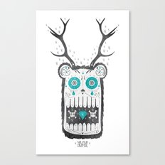 SALVAJEANIMAL MEX cuernitos Canvas Print