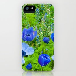 Spring Blues iPhone Case
