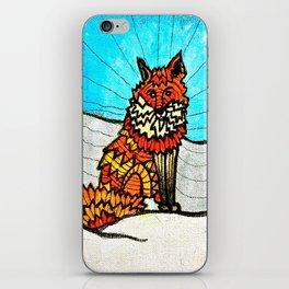 THE FOX iPhone Skin