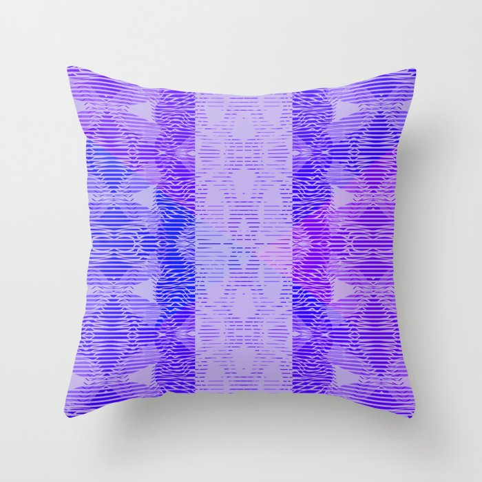 Dark bluish Throw Pillow
