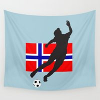 norway Wall Tapestries featuring Norway - WWC by Alrkeaton