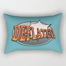 Deflated Rectangular Pillow