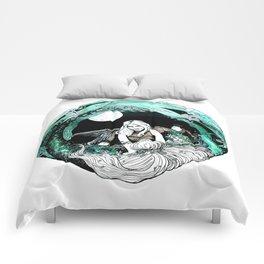 La sirena y el pescador Comforters
