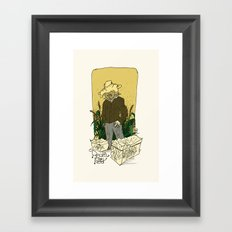 Real in the field... Framed Art Print