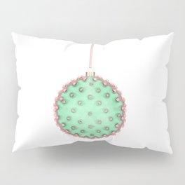 Cactus Christmas Ball Pillow Sham