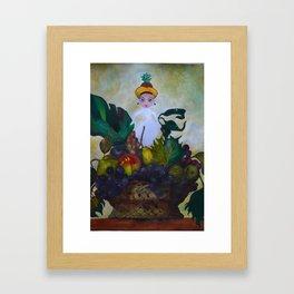 I dream of Fruits Framed Art Print