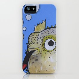 Puffer Fish iPhone Case