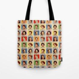 Film Stars Tote Bag