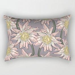 Big lotos flower pattern Rectangular Pillow