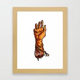 The Severed Hand Framed Art Print