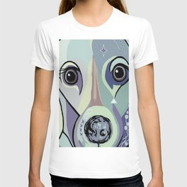 Dachshund in Denim Colors T-shirt