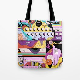 Daily stress and comfort Tote Bag