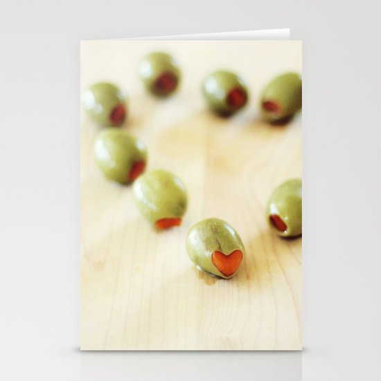 Olive You Stationery Cards