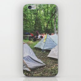Tent City •Appalachian Trail iPhone Skin