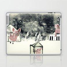 The three little pigs (ANALOG zine) Laptop & iPad Skin