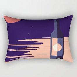 Moonlight + Wine Rectangular Pillow