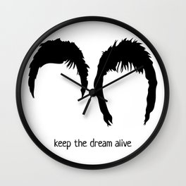 Gallagher - keep the dream alive Wall Clock