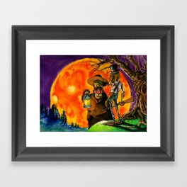 The October Country Framed Art Print