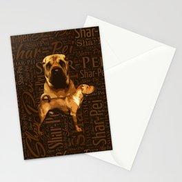 Shar-Pei Stationery Cards