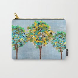 Painted Trees Digital art  composition Carry-All Pouch
