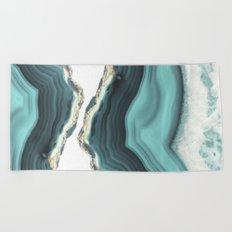 Sea Agate Beach Towel