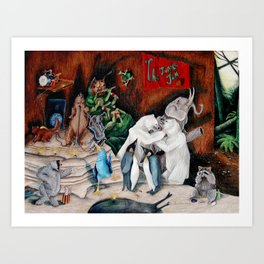 Jungle Jam Art Print